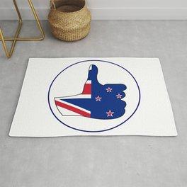 Thumbs Up New Zealand Rug