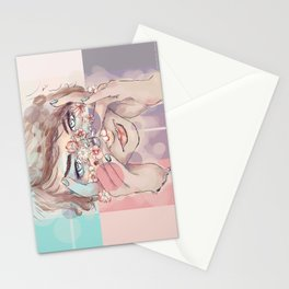 Blushing Daisies Stationery Cards