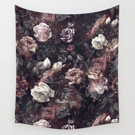 EXOTIC GARDEN - NIGHT III Wall Tapestry