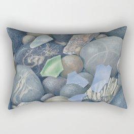 Sea Glass IV Rectangular Pillow