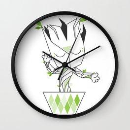 Baby plant Wall Clock