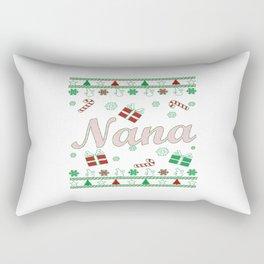 Nana Christmas Rectangular Pillow