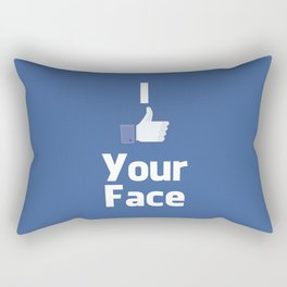 Your Face Rectangular Pillow
