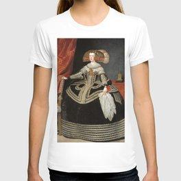 Diego Velázquez - Erzherzogin Maria Anna, Königin von Spanien T-shirt