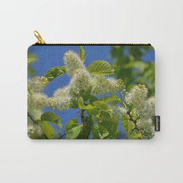 Mayday Tree in Bloom Carry-All Pouch