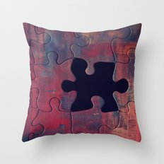 I am Complete with You Throw Pillow