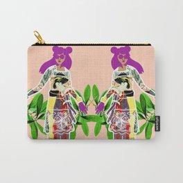 Girl in Utamaro Dress Carry-All Pouch