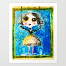 FIRST COCOTTE Art Print