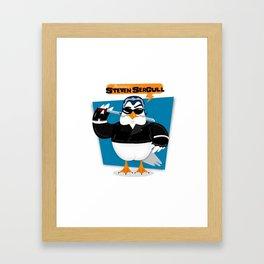 Steven Seagull Framed Art Print