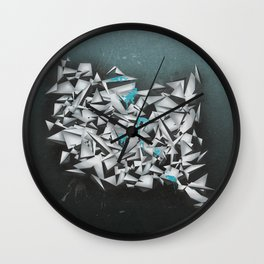 Aquamarine Wall Clock