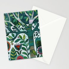 Leafy Garden Stationery Cards