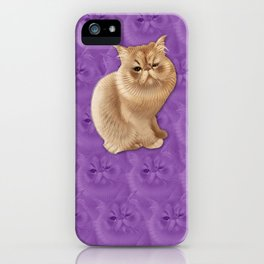 Moo of @Moofabuluousss iPhone Case