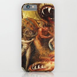 Demons and creatures iPhone Case