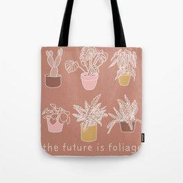 The Future is Foliage Tote Bag