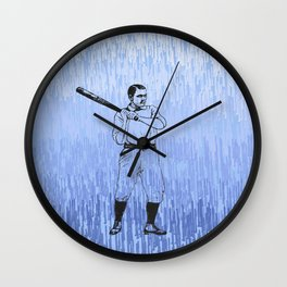 Baseball-The Boys of Summer   Wall Clock