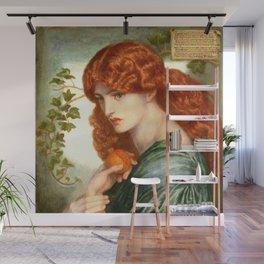 """Dante Gabriel Rossetti """"Proserpine"""" Wall Mural"""