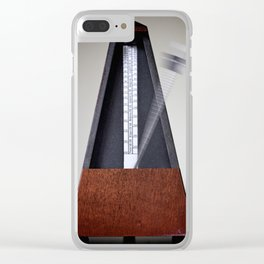 Metronome Clear iPhone Case
