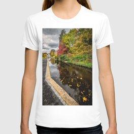 Canal Path Autumn T-shirt