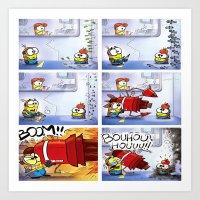 minion Art Prints featuring Minion by Duitk
