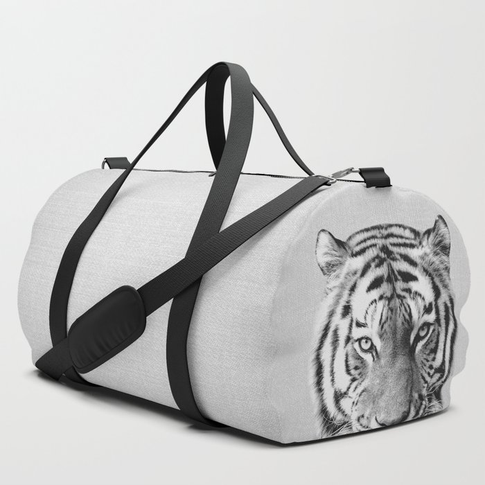 Tiger__Black_&_White_Duffle_Bag_by_Gal_Design__SET_OF_3