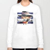 van Long Sleeve T-shirts featuring Van Eastwood by Luigi Tarini