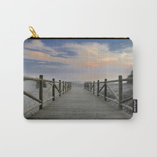 "The path..., the beach II .... ""Artola"". Carry-All Pouch"