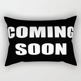 COMING SOON Rectangular Pillow