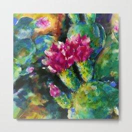 Desert Blooms by Kathy Morton Stanion Metal Print