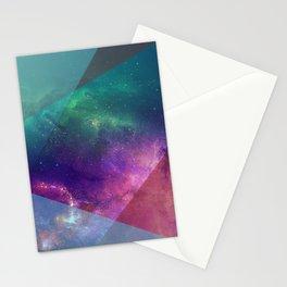 Deep Blue Galaxy Stationery Cards