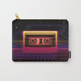 Sunset Cassette Carry-All Pouch
