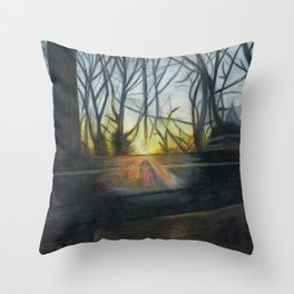 A View from my Window Throw Pillow