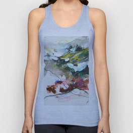 Day 84: In most cases reflecting on things in a cosmic context reveals triviality. Unisex Tank Top