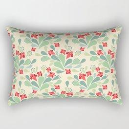 Retro flowers , retro Rectangular Pillow