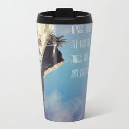 Upside Down Inspiration Travel Mug