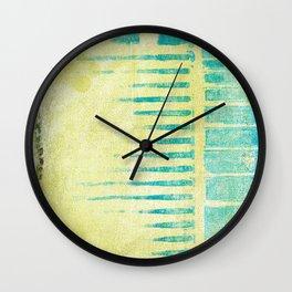 Abstract No. 216 Wall Clock