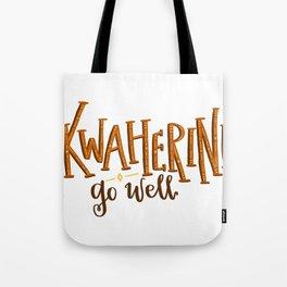 Kwaherini Tote Bag