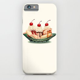 Sundae Best: Banana Split iPhone Case