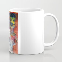 """""""Phases of Her Mind"""" - the flagship painting in the series """"Women and the Golden Rectangle."""" Coffee Mug"""