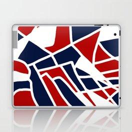 Red White & Blue Laptop & iPad Skin