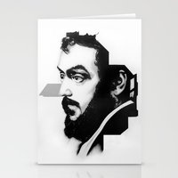 stanley kubrick Stationery Cards featuring STANLEY KUBRICK by A. Dee