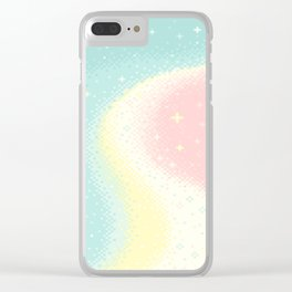 Pearl Universe Clear iPhone Case