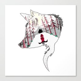 Red's Trial of the Wolf Canvas Print