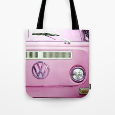 Summer of Love - Cotton Candy Pink Tote Bag