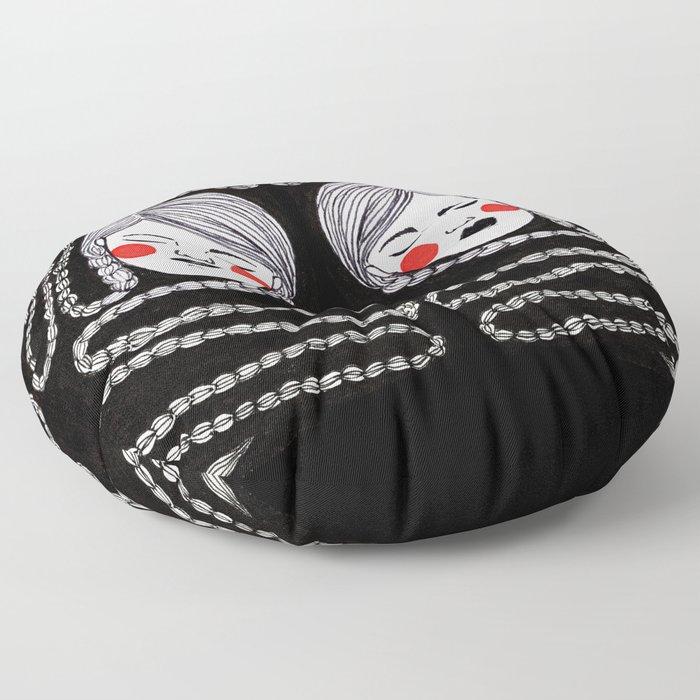 Braids Floor Pillow