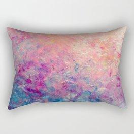 Coastal Sunset - Abstract Art by Vinn Wong Rectangular Pillow