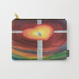 Jesus Hug Carry-All Pouch
