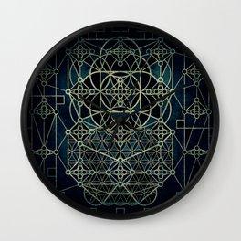 Quantum Conexion Wall Clock