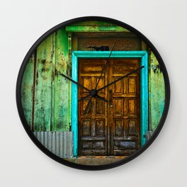 Doorways II Wall Clock