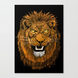Thunder Lion Canvas Print