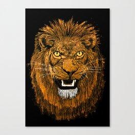 Thunder Lion Canvas Print